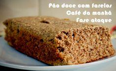 Pão doce com farelos para a dieta dukan #receitas #dieta #dukan #fit #fitness #academia