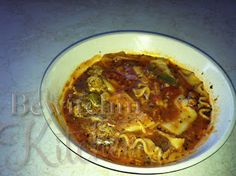 Lasagna Soup - so good and a perfect dish to make ahead and freeze.