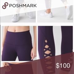 ISO LULULEMON PURE PRACTICE PANT I'm searching for the Lululemon pure practice pant in a size 8 black or purple!! I'm dying to have these!! Please beautiful Posh People help me find them! lululemon athletica Pants Leggings