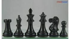 New Handcarved Staunton Chess Set in Dyed Stained Box Wood. http://www.chessbazaar.com/chess-pieces/economy-chess-pieces/new-handcarved-staunton-chess-set-in-dyed-stained-box-wood.html