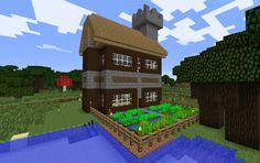 Mijn survival huisje (gemaakt in survival)