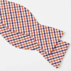 Gingham Bow Ties Blake by The Cordial Churchman for BourbonandBoots.com