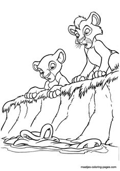 lion king coloring pages google - photo#23