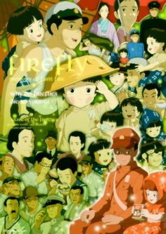 Grave of the Fireflies is Isao Takahata's animated masterpiece about two orphaned children who were forced to survive during the waning days of the Second World War. They spent their last days together in an abandoned shelter where they make use of fireflies for light. In the end, they both died skin and bones due to malnutrition.