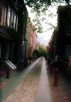 Old street in Philadelphia