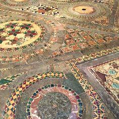 13th century mosaic | Jasper Conran