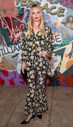 KATE BOSWORTH You forgot to take you pajamas off before you attended the party