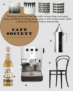 Cafe society!!!