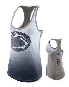 Penn State Nike Women's Tri- Blend Logo Tank