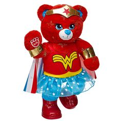 Warrior Wonder Woman™ Bear Set | Build-A-Bear