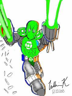green lantern superpatriot(image comics)