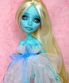 Customized Lorna McNessie Monster High doll by UnnieDolls on Etsy