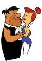 Fred And Wilma Flintstone Fred And Wilma Flintstone, Flintstone Cartoon, Classic Cartoon Characters, Classic Cartoons, Disney Characters, Free Cartoons, Cool Cartoons, Pebbles And Bam Bam, Yabba Dabba Doo