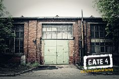 Industrial Factory / Gate4 entry