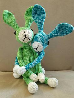 Snuf konijn. Kooppatroon van Stip en Haak.