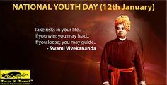 Happy National Youth Day..!! Happy Swami Vivekanand Jayanti..!!