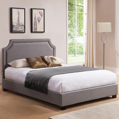 Found it at Wayfair - Brantford Upholstered Platform Bed