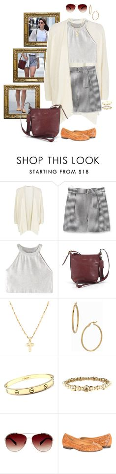 """""""Untitled #108"""" by waitingpond ❤ liked on Polyvore featuring Damsel in a Dress, MANGO, WithChic, Coach, Bony Levy, Cartier, Chanel and Steve Madden"""