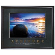 All Motivational Posters - Attitude Boulder Motivational Poster - Classic Motivational Posters