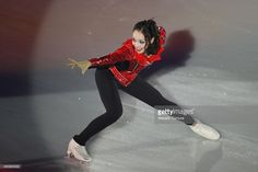 Rika Hongo of Japan performs her routine during the All Japan Medalist On Ice at the Big Hat on December 29, 2014 in Nagano, Japan.