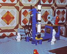 Lego verdensrom 1970-tallet.