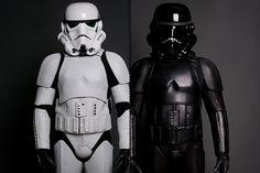 Star Wars meets biker bars with Storm Trooper motorcycle gear