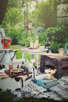 Summer Picnic #writing http://www.amazon.com/The-Reverse-Commute-ebook/dp/B009V544VQ/ref=tmm_kin_title_0