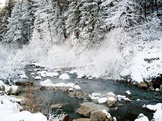 Frenchman's Bend Hot Springs, Idaho.
