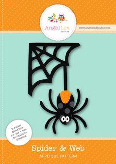spider applique pattern