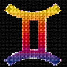 Cross Stitch | Gemini xstitch Chart | Design
