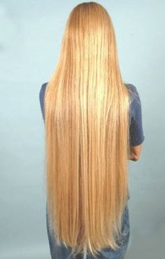 blonde, classic-length tresses. this is what I want so badly!