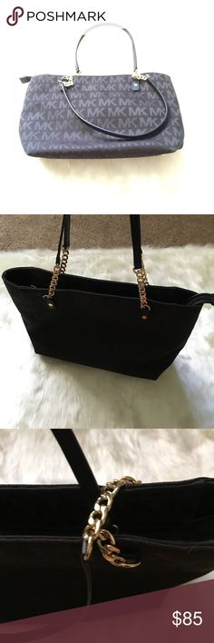 """Authentic Michael kors tote Gently used in great condition                                dimensions 14"""" x 9""""  x 5"""" Bags Totes"""