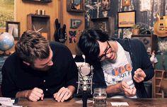 That time when Link almost fainted, so Rhett got into catching position // Rhett & Link