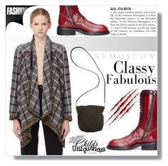 """""""SVMoscow 2"""" by fashion-pol ❤ liked on Polyvore featuring Share Spirit, Ann Demeulemeester, Rick Owens and svmoscow"""