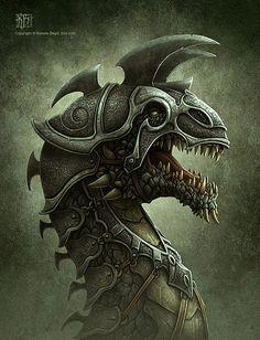 Dragon art by Kerem Beyit on designyoutrust.com