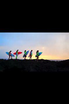 Billabong surf!