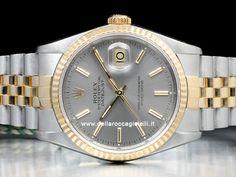 Orologi Rolex Datejust Ref 16234 - 16220 - 116234 Prezzi Rolex Datejust, Gold Watch, Rolex Watches, Accessories, Jewelry Accessories