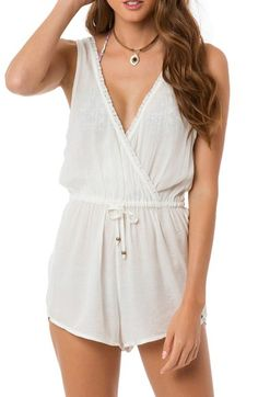 O'Neill 'Bungalow' Sleeveless Romper available at #Nordstrom