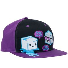 I'm Cool Flat Bill Cap - Headwear - Accessories Flat Bill Hats, Flat Hats, Urban Hippie, Victoria Fashion, Jeans With Heels, Shop Till You Drop, Beanie Hats, Beanies, Cute Hats