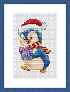 Cross Stitch Pattern Little Cute Christmas by ZAnnaCrossStitch