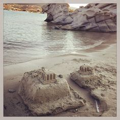 Beach architecture #greece #cyclades