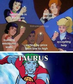 Hilarious and relatable Taurus memes-OurMindfulL. / astrology memes about Taurus personality traits, Taurus facts and problems facts funny Sagittarius Love, Zodiac Signs Taurus, Zodiac Signs Astrology, Zodiac Mind, My Zodiac Sign, Taurus Taurus, Taurus Memes, Taurus Quotes, Zodiac Memes