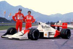 f1pictures:  Senna , Prost McLaren - Honda 1989