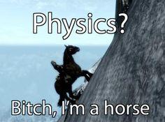 Skyrim Horse Glitch