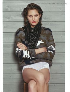 Catherine McNeil by Collier Schorr for i-D Pre Fall 2013