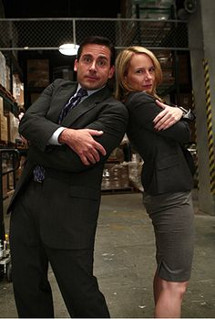 Michael and Holly... He totally deserved an awesome woman!