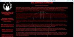 Anonymous Hacks UK Gov't Site After Detention of Glenn Greenwald's Partner