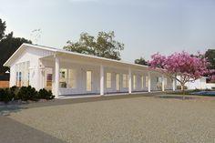 House Plan 888-16 modern farmhouse one story