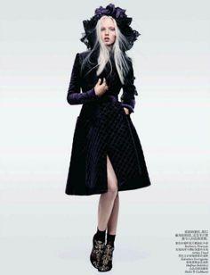 Lindsey Wixson for Vogue China 1012 by Sharif Hamza