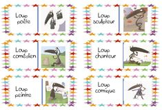 Le loup qui voulait être un artiste Album Jeunesse, Learn French, French Language, Literacy, Teaching, Education, School, Kids, Livros
